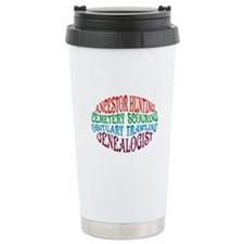 Ancestor Hunting Ceramic Travel Mug