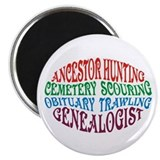 Ancestor Hunting Magnet