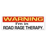 Road Rage Recovery Bumper Bumper Sticker