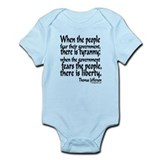 Tyranny Infant Bodysuit