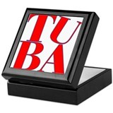 BandNerd.com -- Tuba Keepsake Box