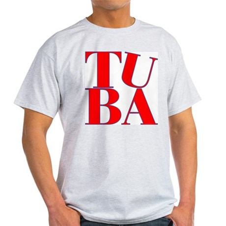 BandNerd.com -- Tuba Light T-Shirt