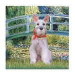 Bridge/Schnauzer #9 Tile Coaster