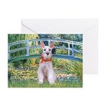 Bridge/Schnauzer #9 Greeting Cards (Pk of 10)