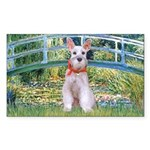 Bridge/Schnauzer #9 Sticker (Rectangle 10 pk)