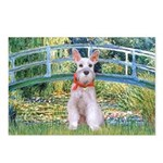 Bridge/Schnauzer #9 Postcards (Package of 8)