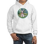 Bridge/Schnauzer #9 Hooded Sweatshirt