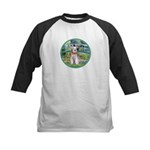 Bridge/Schnauzer #9 Kids Baseball Jersey