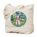 Bridge/Schnauzer #9 Tote Bag