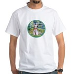 Bridge/Schnauzer #9 White T-Shirt