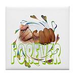 Forever Promises Tile Coaster