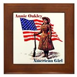 Unique Annie Framed Tile