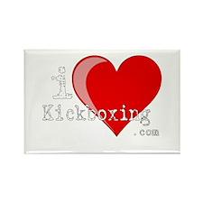 iLoveKickboxing.com Rectangle Magnet