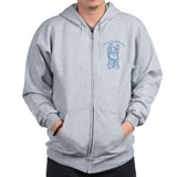Life is Buddhaful Zip Hoodie