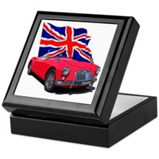 Cute British racing Keepsake Box