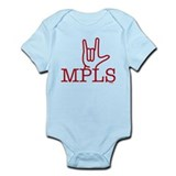 Love for MPLS Infant Bodysuit