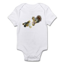 Dreidel Squirrel Infant Bodysuit