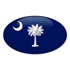 South Carolina Oval Sticker (50 pk)