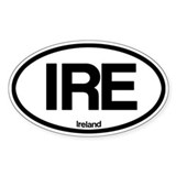 Ireland Oval Decal