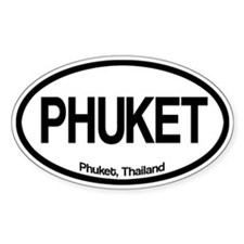 Phuket Oval Decal