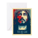 Yes HE Can Greeting Cards (Pk of 20)
