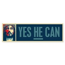 Yes HE Can Bumper Sticker (50 pk)
