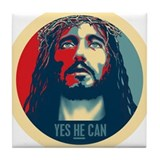 Yes HE Can Tile Coaster