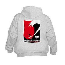 Nobody Surfs Like a Jersey Girl Hoodie