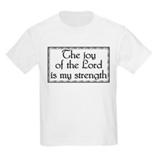 The Joy Of The Lord.. Items Kids T-Shirt