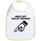 World's Best Bluetick Coonhou Bib