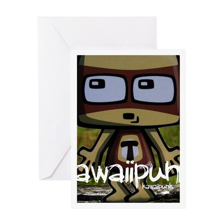 TV Mascot Photo Greeting Card