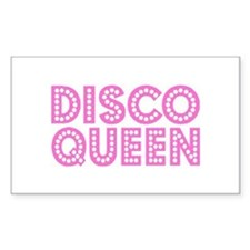 DISCO QUEEN Rectangle Decal