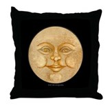 Full Moon Accent Throw Pillow