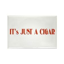 Just a Cigar Rectangle Magnet
