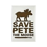 Save Pete the Moose Rectangle Magnet (100 pack)