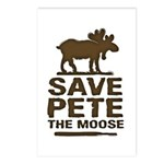 Save Pete the Moose Postcards (Package of 8)