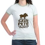 Save Pete the Moose Jr. Ringer T-Shirt
