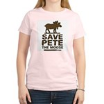 Save Pete the Moose Women's Light T-Shirt