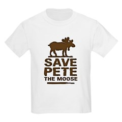 Save Pete the Moose Kids Light T-Shirt