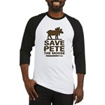 Save Pete the Moose Baseball Jersey