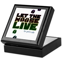 Let the Moose Live Keepsake Box