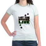 Let the Moose Live Jr. Ringer T-Shirt