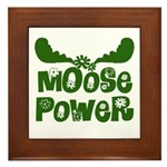Moose Power Framed Tile