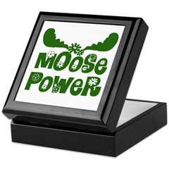 Moose Power Keepsake Box