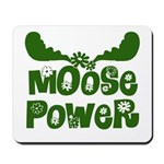 Moose Power Mousepad