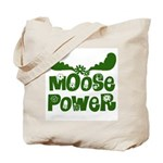 Moose Power Tote Bag