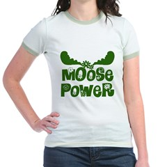 Moose Power Jr. Ringer T-Shirt