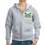 Moose Power Women's Zip Hoodie