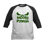 Moose Power Kids Baseball Jersey