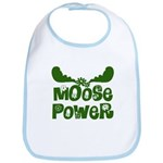 Moose Power Bib
